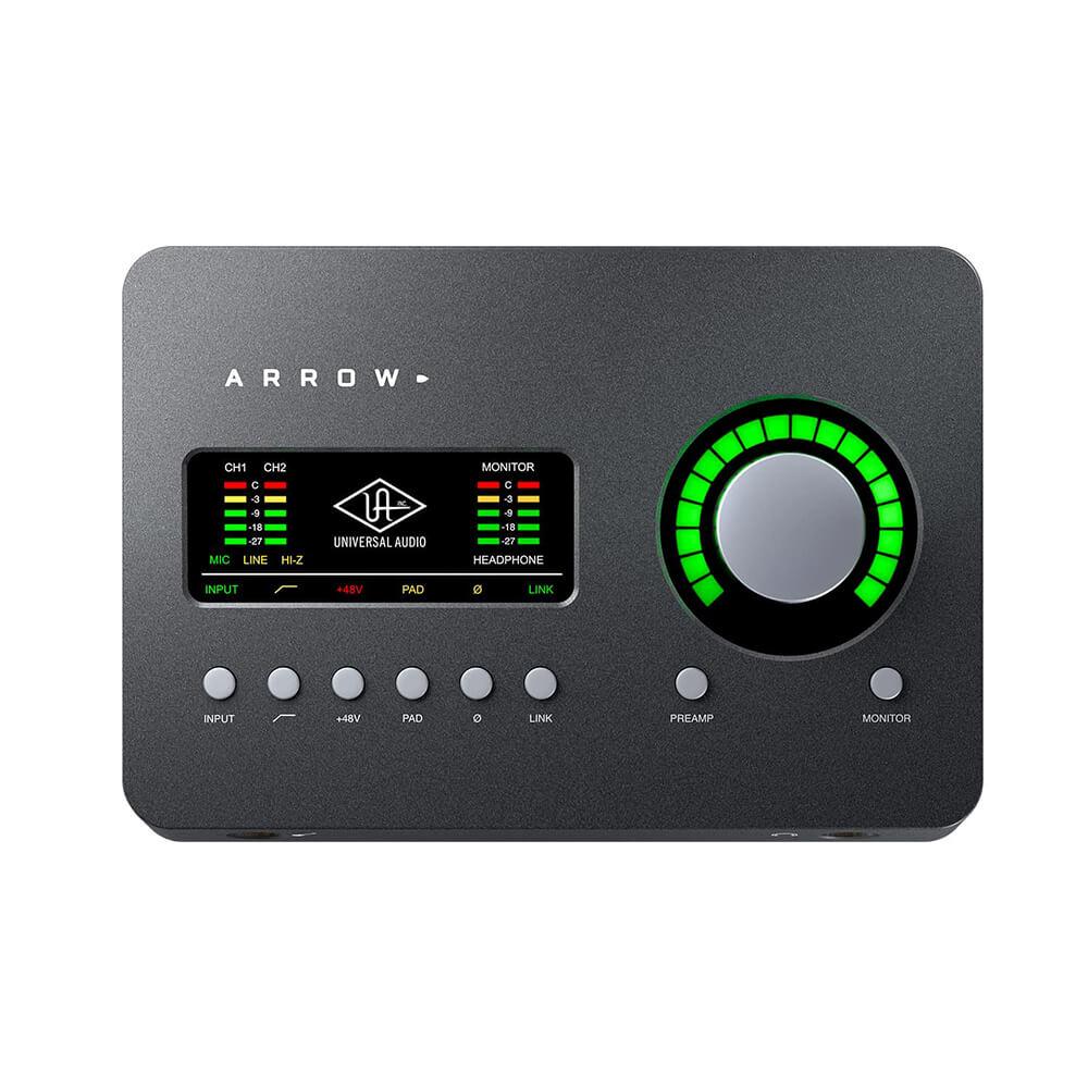 Universal Audio Arrow Desktop Thunderbolt 3 Audio Interface main view