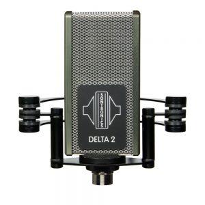 Sontronics DELTA 2 Phantom Ribbon Microphone black