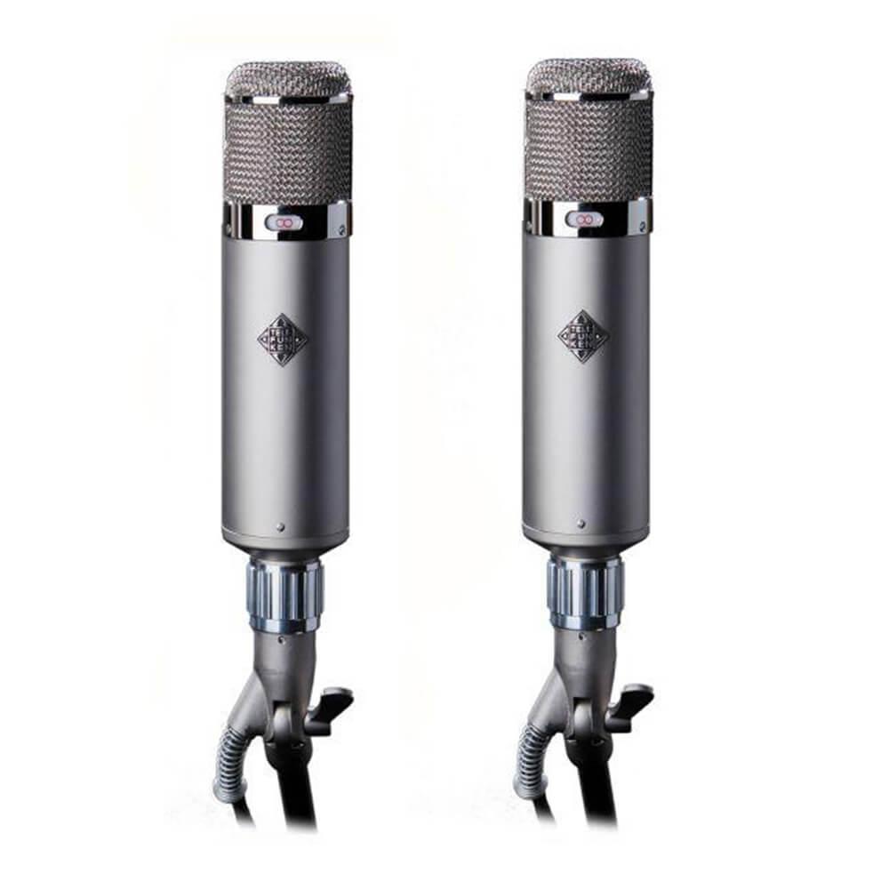 Telefunken U48 Tube Condenser Microphone Stereo Set