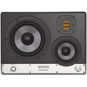 EVE Audio SC3070 3 Way Active Nearfield Studio Monitor black