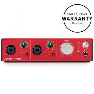 Focusrite Clarett 2 Pre USB 10x4 Audio Interface